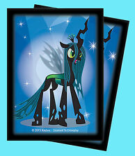65 MY LITTLE PONY QUEEN CHRYSALIS Ultra Pro DECK PROTECTOR Standard Card Sleeves