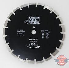 Diamanttrennscheibe Trennscheibe Ø 350mm für Asphalt Beton Ziegel (TAR350-IV032)