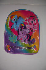 "MY LITTLE PONY BACKPACK GIRLS 16"" SCHOOL BACKPACK NWT!."