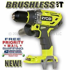 NEW Ryobi 18v ONE+ BRUSHLESS Hammer Drill P251, Use with P108, P100, P107 & More