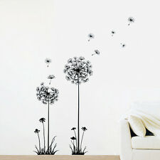 DIY Removable Flying Room Wall Sticker Dandelion Art Mural Decal Home Decor