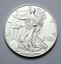 KEY DATE RARE 1996 American Silver Eagle Dollar 1 oz.999 Fine Silver Coin, Round