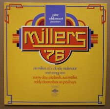 LP Millers '76 Eddy Doorenbos, Paul Ruys, Pia Beck, Sanny Day Dutch Jazz Nm