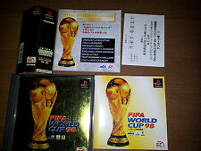 FIFA WORLD CUP 98 SONY PLAYSTATION VIDEOGAMES PS JAP JAPANESE PSX PS1