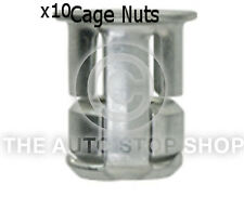 Cage Nut 8MM  Drilling 13MM Thickness 1,8-7MM Citroen ZX Part  498ci Pack of 10