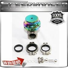 EMUSA 38MM WASTEGATE V-BAND ANODIZED CHAMELEON Mazda Toyota Scion Acura BMW