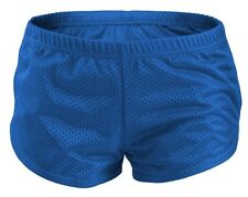 Blue SOFFE Teeny Tiny Mesh Running/Cheer/Beach Short Shorts Size XS