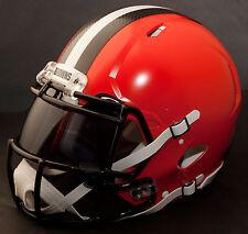 ***CUSTOM*** CLEVELAND BROWNS NFL Riddell Revolution SPEED Football Helmet
