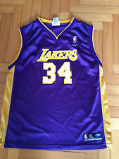 Canotta Jersey Nba O'Neal Los Angeles Laker Reebok 18 20 Youth Jordan Basket VTG