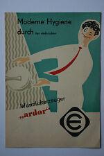 originale Werbung Gebrauchsanleitung DDR Warmlufterzeuger ardor VEB (14)