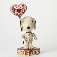 ENESCO Jim Shore Peanuts Snoopy I Heart (Love) You Balloon #4042378 NEW Box