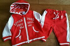 Official Liverpool FC Red and White Tracksuit Age 2-3 yrs