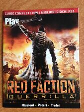 GUIDE COMPLETE GIOCHI PS3 Play Generation RED FACTION GUERRILLA / GHOSTBUSTERS