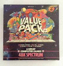 Sinclair ZX Spectrum - Beau Jolly value pack - 6 Imagine games - complete