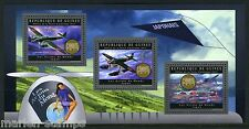 GUINEA 2012 JAPANESE  PLANES OF THE WORLD   SHEET  MINT NH