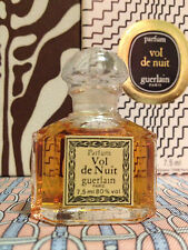 Vintage 1980s Vol de Nuit Guerlain SEALED 1/4 oz 7.5 ml Pure Parfum OLD FORMULA