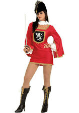 Adult Movie Three Musketeers Sexy Musketeer Renaissance French Dress 6-9 Costume