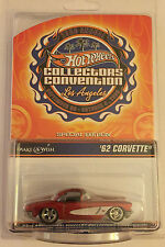 Hot Wheels 23rd Collectors Convention 2009 Charity Car '62 Corvette RR #/3000
