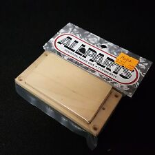 Allparts Maple Wood Wooden Humbucking Humbucker Pickup Cover & Flat Ring
