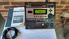 ROLAND TD-12 MODULE WITH MOUNT & ORIGINAL MANUAL! NEAR PERFECT CONDITION!