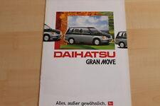 74553) Daihatsu Gran Move Prospekt 04/1997