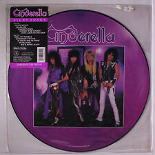 "EX/EX! CINDERELLA - NIGHT SONGS 12"" VINYL PICTURE PIC DISC"