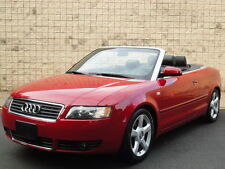 Audi: A4 Cabriolet 1.8T TURBO! 87K MILES! FULLY LOADED!