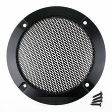 """2x 3""""Inch Matt Type Circle Speaker Decorative Circle With Protective Grille DIY"""