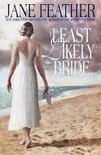 The Least Likely Bride by Jane Feather (2000, Hardcover)
