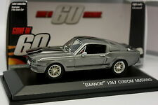 Greenlight 1/43 - Ford Mustang Custom 1967 Eleanor 60s Chrono