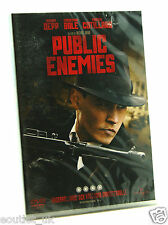 Public Enemies DVD Región 2 NUEVO SELLADO Johnny Depp Christian Bale