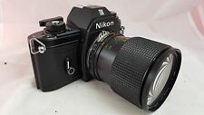 Nikon EM 35mm SLR Film Camera W/ SAKAR 28-80MM 1:3.5~4.8 JAPAN LENS