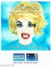 PUBLICITE ADVERTISING 096  1995  La carte bleue Visa 2