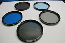 58mm, HOYA , TIFFEN and PROMASTER PROFESSIONAL LENS FILTERS  (LOT #3/4)