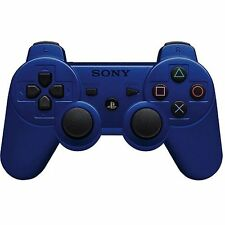 Official Sony PS3 PlayStation 3 Wireless Dualshock 3 Controller Blue DS3 UDAC