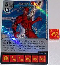 Foil BARRY ALLEN: SUPER SONIC PUNCH 2 Green Arrow and The Flash Dice Masters