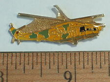 Vintage MI-24 HIND Helicopter Russian Military  Pin Badge Hat Tack Lapel Pin