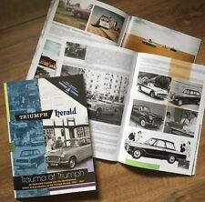 Nuevo libro de edición limitada estándar Triumph Herald-trauma en triunfo