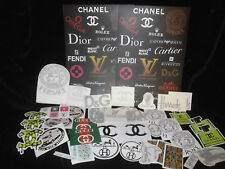 Huge  Exclusive Joblot Romany Designer Stickers Canisters Jugs Resale Market