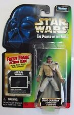 1997 Star Wars Lando Calrissian in Generals Gear POTF Freeze Frame Series Figure