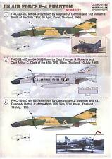 Print Scale Decals 1/72 MCDONNELL DOUGLAS F-4 PHANTOM II U.S. Air Force