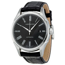 Hamilton Valiant Automatic Black Dial Leather Mens Watch H39515734