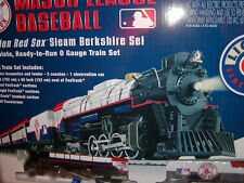 Lionel 7-12012 Boston Red Sox Ready to Run Passenger Steam Train Set O 027 New