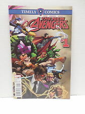 New Avengers #1 Timely Marvel Comic Book Ewing Sandoval Wiccan Songbird Hulkling
