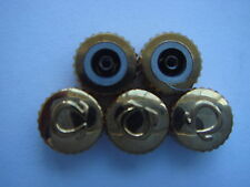 Omegas crowns NOS for speedmaster 6mm goldfill tap 90  total 5 pieces