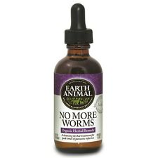 Earth Animal No More Worms Dog Supplement FREE SHIPPING