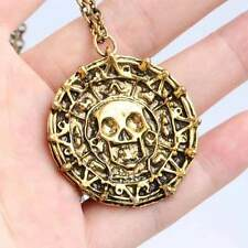 Pirates of the Caribbean Medallion (NEW) Aztec Gold Disney Movie Prop Replica
