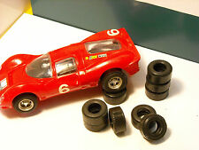 8 F1 tyres URETHANE OR PROTO SCALEXTRIC 70-80 years AU