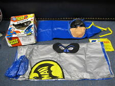 Vintage Batman costume Cape Mask with Original Box