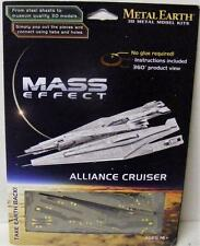 MASS EFFECT ALLIANCE CRUISER METAL EARTH 3D METAL METALLIC NANO PUZZLE NEW